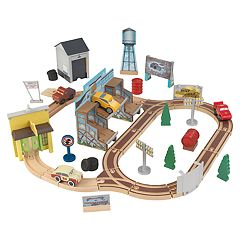 Disney / Pixar Cars 3 50 pc Thomasville Track Set By KidKraft