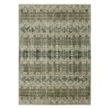 Karastan Studio Serenade Faded Daydream by Patina Vie SmartStrand Ornate Striped Rug