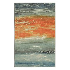 Mohawk® Home Aurora Abstract Seascape Wear-Dated Rug