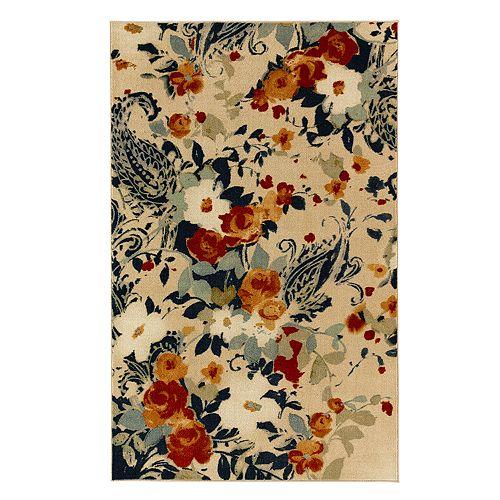 Mohawk® Home Aurora Anzio Wear-Dated Floral Rug