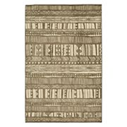 Mohawk® Home Aurora Tribal Love Wear-Dated Striped Rug