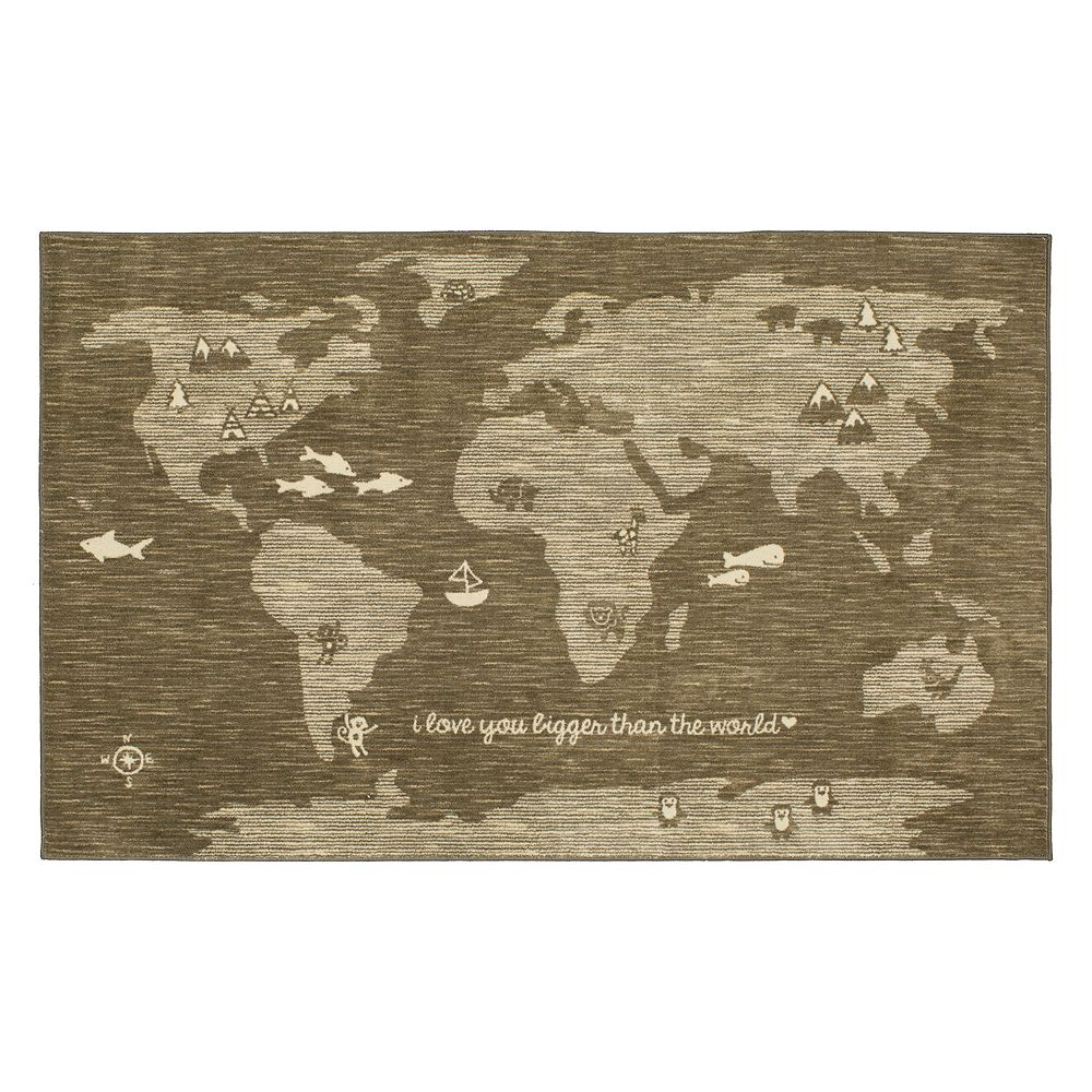 Mohawk® Home Aurora Bigger Love -Dated World Map Rug on map blanket, map math, map toys, map sheet, map cabinet, map lamp, map decor, map pouf, map quilt, map tile, map storage, map clock, map upholstery, map tree, map bag, map frame, map accessories, map trunk, map furniture, map carpet,