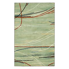 Mohawk® Home Aurora Broken Stripe Wear-Dated Abstract Rug