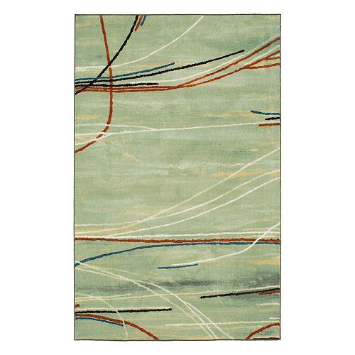 Mohawk® Home Aurora Broken Stripe Wear-Dated Abstract Rug