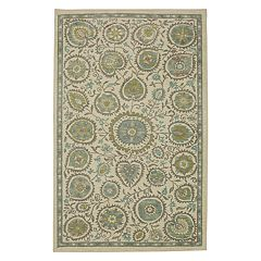 Mohawk® Home Aurora Evensong Wear-Dated Floral Rug