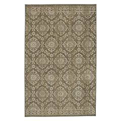 Mohawk® Home Aurora Juniper Fret Wear-Dated Medallion Rug