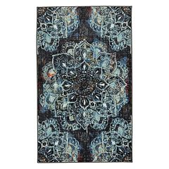 Mohawk® Home Aurora Mandala Wear-Dated Medallion Rug