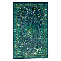Mohawk® Home Aurora Padua Wear-Dated Framed Floral Rug