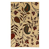 Mohawk® Home Aurora Paisley Trail Wear-Dated Floral Rug