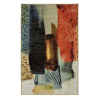 Mohawk® Home Aurora Transparent Brush Wear-Dated Abstract Rug