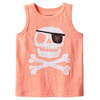 Baby Boy Jumping Beans® Front & Back Graphic Nep Tank Top