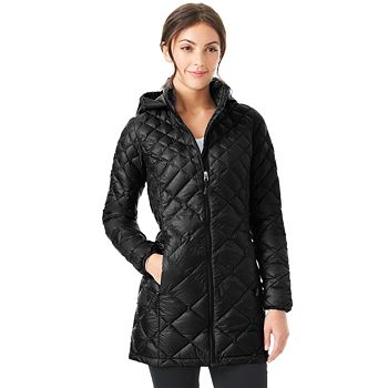 32 Degrees Womens Hooded Puffer Jacket