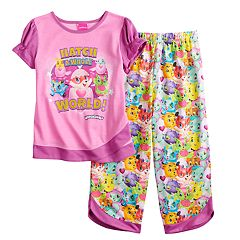 Girls 4-12 Hatchimals 'Hatch A Whole World' Top & Bottoms Pajama Set