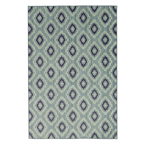 Mohawk® Home Bayside Atlantic Geo EverStrand Lattice Rug
