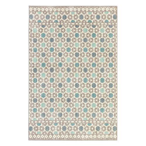 Mohawk® Home Cascade Heights Lattice Tiles EverStrand Geometric Rug