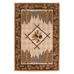 Mohawk® Home Destinations Kobuk EverStrand Framed Lodge Rug