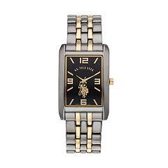 U.S. Polo Assn. Men's Two Tone Watch - USC80293KL