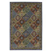Mohawk® Home Gallery Johnson EverStrand Framed Medallion Rug