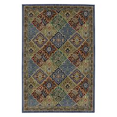 Mohawk® Home Gallery Johnson EverStrand Framed Medallion Rug