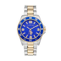 U.S. Polo Assn. Men's Two Tone Watch - USC80514KL