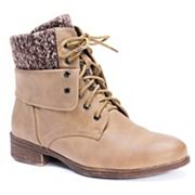 MUK LUKS Ambyr Women's Water-Resistant Ankle Boots
