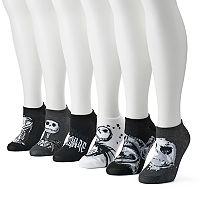 Disney's Nightmare Before Christmas Women's 6 pkNo-Show Socks