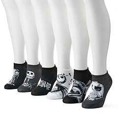 Disney's Nightmare Before Christmas Women's 6-pk. No-Show Socks
