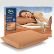Serta Copper Restore Anti-Microbial Gel Memory Foam Pillow