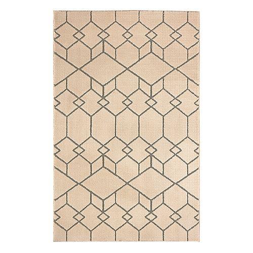 Mohawk® Home Loft Interlocking Blocks EverStrand Geometric Rug