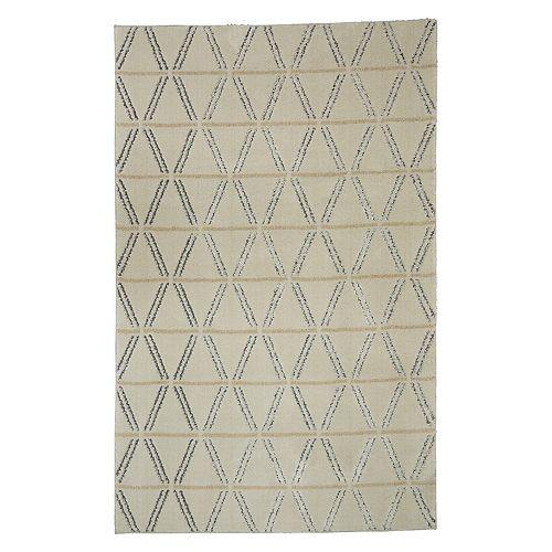 Mohawk® Home Loft Linear Diamonds EverStrand Geometric Rug