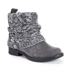 MUK LUKS Patrice Women's Water-Resistant Ankle Boots