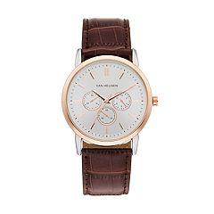 Van Heusen Men's Leather Watch - VAN5108KL