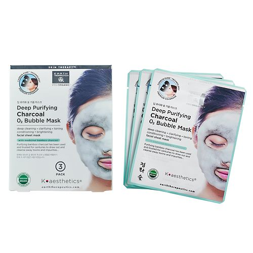 Earth Therapeutics Deep Purifying Charcoal Bubble Face Mask
