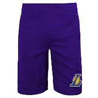 Boys 8-20 Los Angeles Lakers Free Throw Shorts