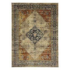 Mohawk® Home Providence Parlin EverStrand Framed Medallion Rug