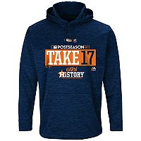 Men's Majestic Houston Astros 2017 MLB Playoffs Participant Hoodie