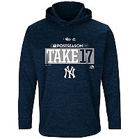 Men's Majestic New York Yankees 2017 MLB Playoffs Participant Hoodie