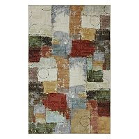 Mohawk® Home Strata Gypsy Quilt Wear-Dated Abstract Rug