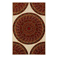Mohawk® Home Strata Mandala Road Wear-Dated Medallion Rug