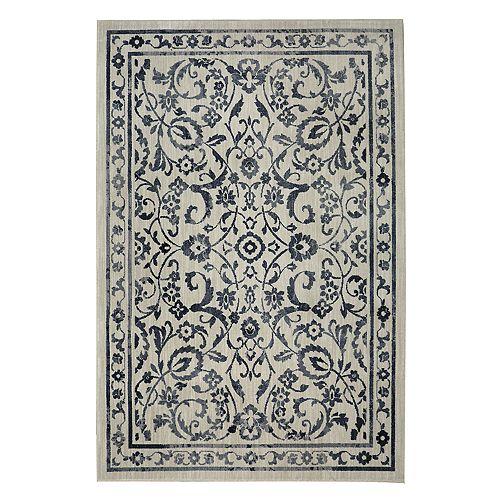 Mohawk® Home Studio Bancroft EverStrand Framed Floral Rug