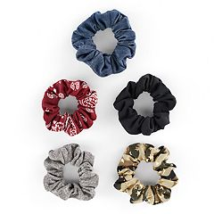 Mudd® Paisley & Star Camo Scrunchie Hair Tie Set