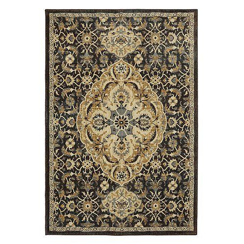 Mohawk® Home Studio Dearborn EverStrand Framed Floral Rug