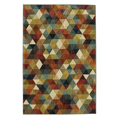 Mohawk® Home Studio Diamonte EverStrand Geometric Rug