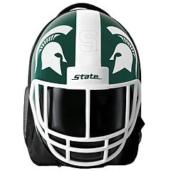 Michigan State Spartans Helmet Hardshell Backpack