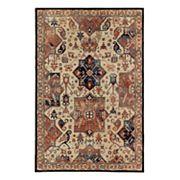 Mohawk® Home Studio Durham EverStrand Framed Floral Rug