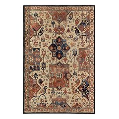 Mohawk® Home Studio Durham EverStrand Framed Floral Rug