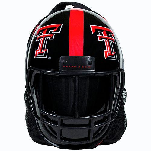 Texas Tech Red Raiders Helmet Hardshell Backpack