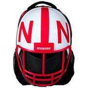 Nebraska Cornhuskers Helmet Hardshell Backpack