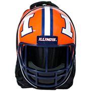 Illinois Fighting Illini Helmet Hardshell Backpack