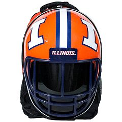 Illinois Fighting Illini Helmet Hardshell Backpack